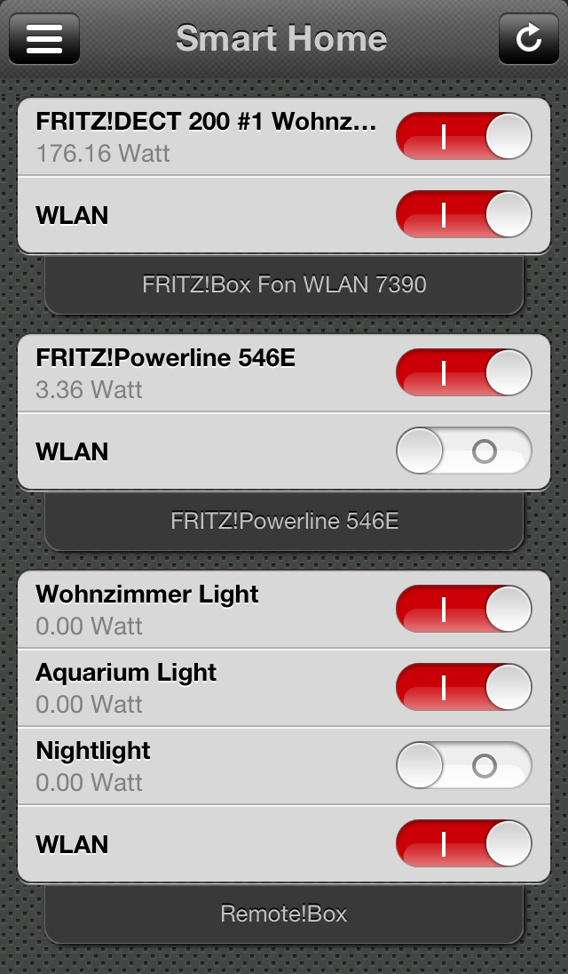 Smart Home For Ios Control Your Smart Home Devices From Avm